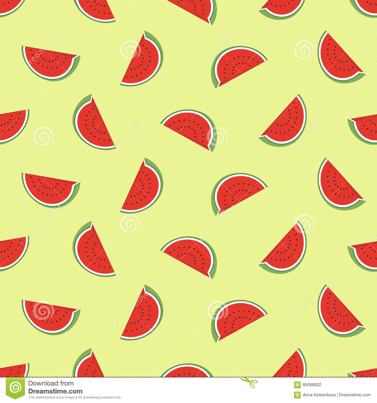 minimalist watermelon high quality seamless pattern cute seamless pattern watermelons vector background good wallpaper 95068832