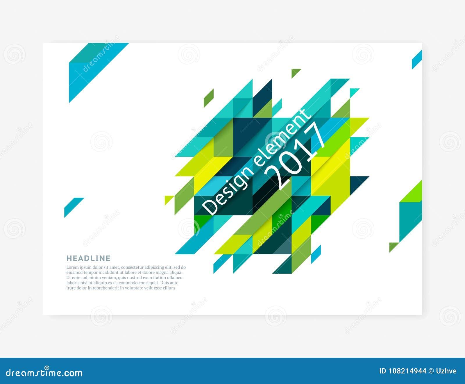 Minimalistic盖子设计模板,创造性的概念,现代对角抽象背景