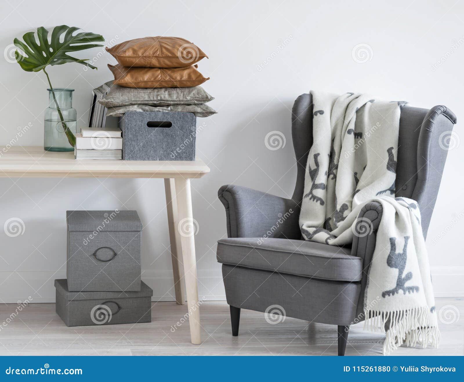Minimalny żywy izbowy wnętrze