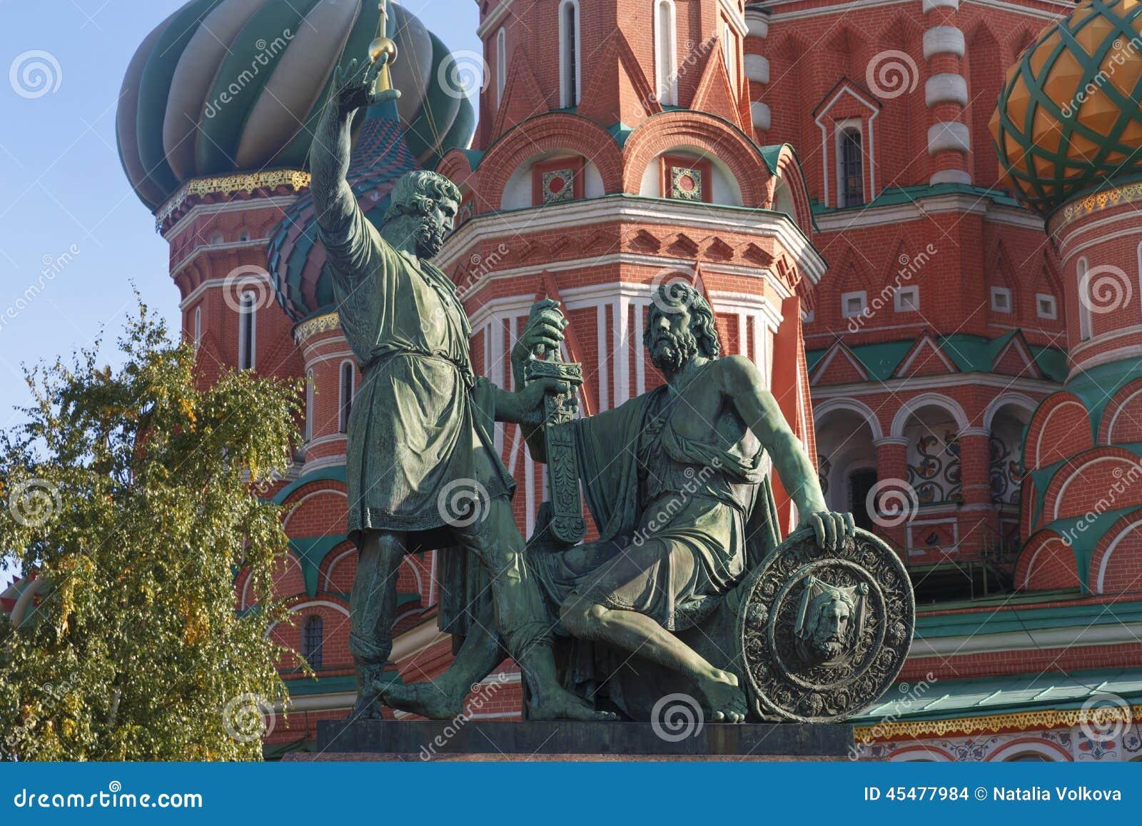 Minin纪念碑pozharsky