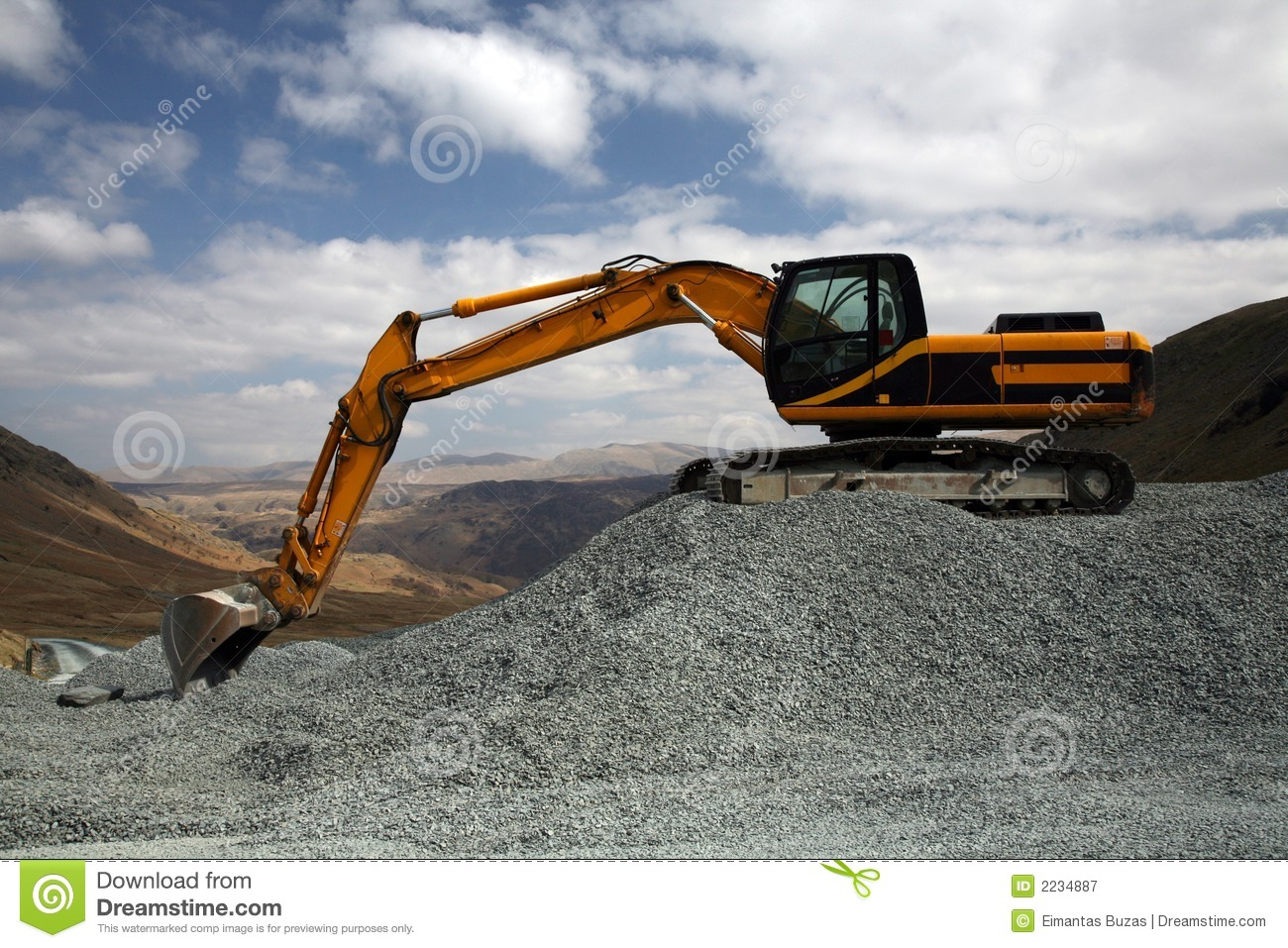 Mining Site Royalty Free Stock Photography - Image: 2234887: www.dreamstime.com/royalty-free-stock-photography-mining-site...