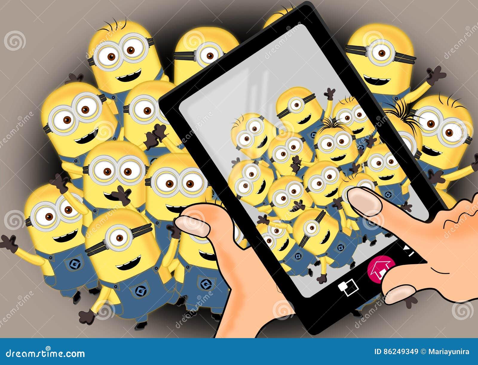 Minions on crowd
