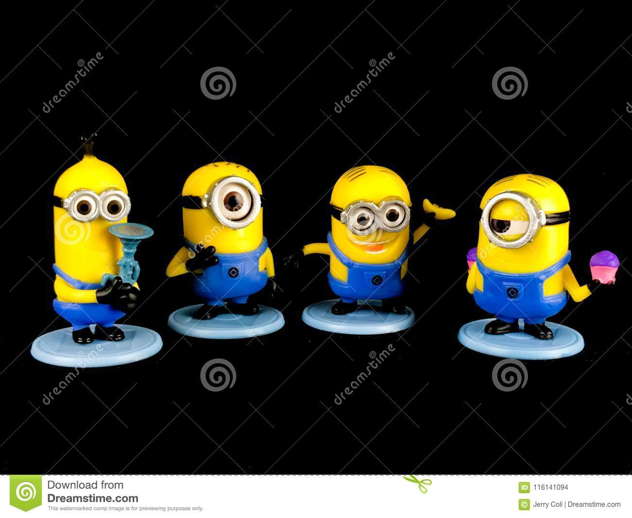 The Minions for Despicable Me Franchise