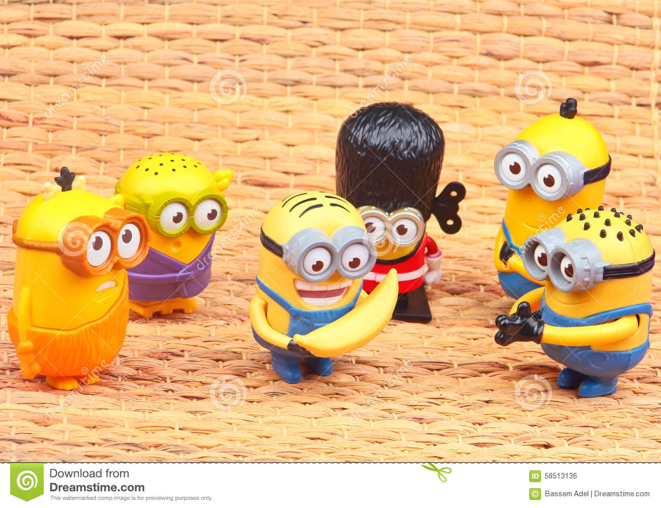 Minions Toy editorial photo. Image of mcdonalds, minions ...