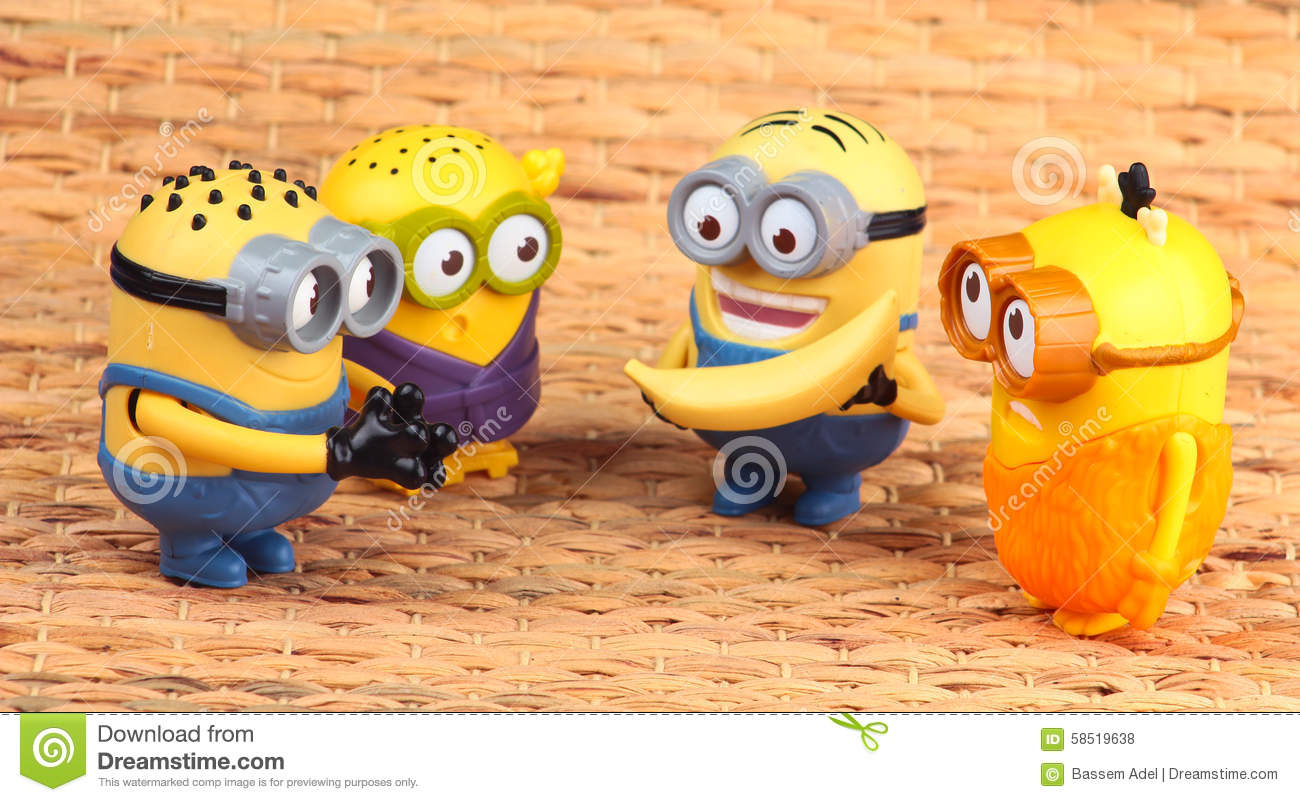 Minions toy editorial stock photo image 58519638 for Happy playsets