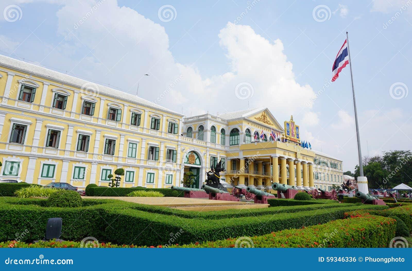 Ministério da construção da defesa em Banguecoque