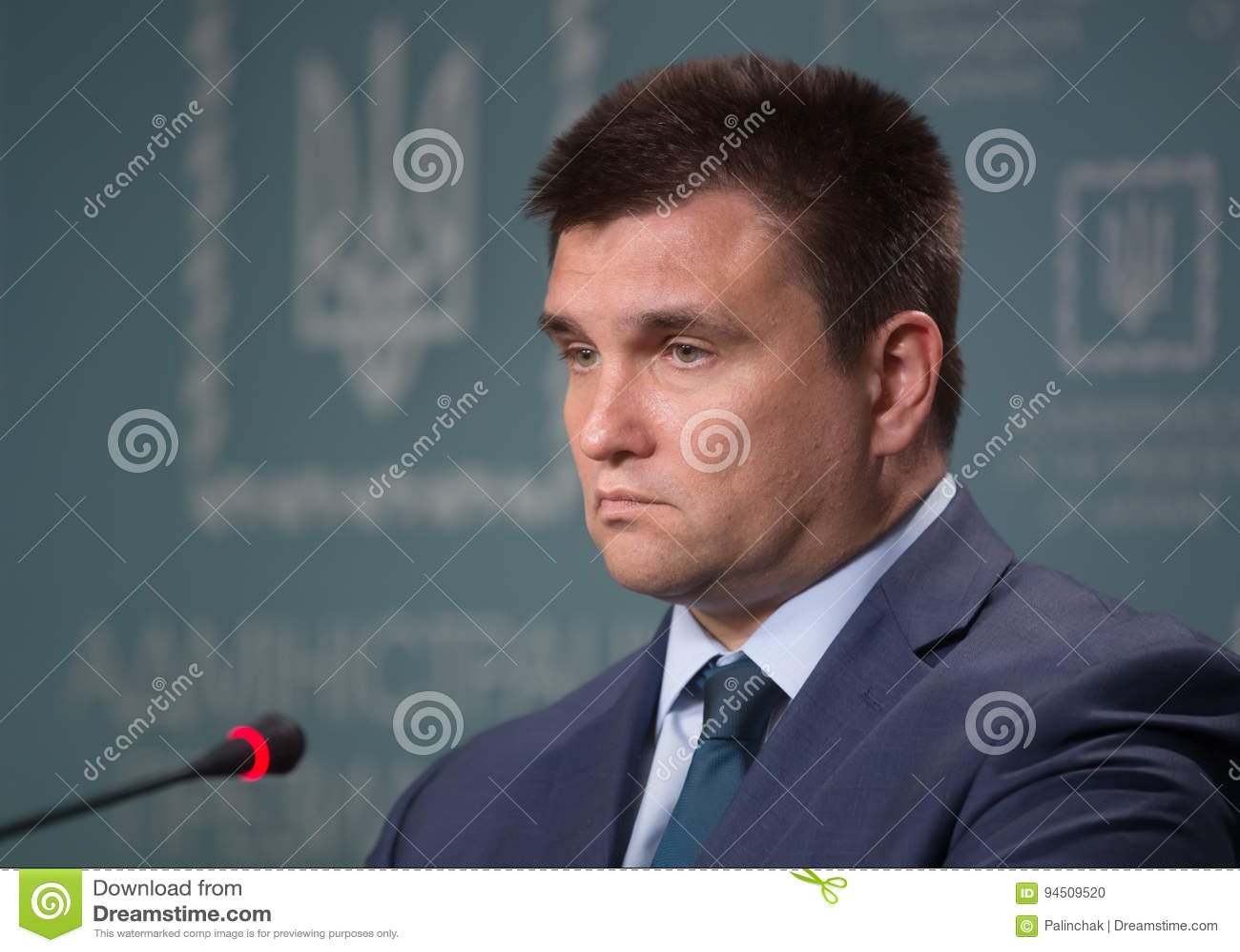 Minister Cudzoziemski - sprawy Ukraina Pavlo Klimkin