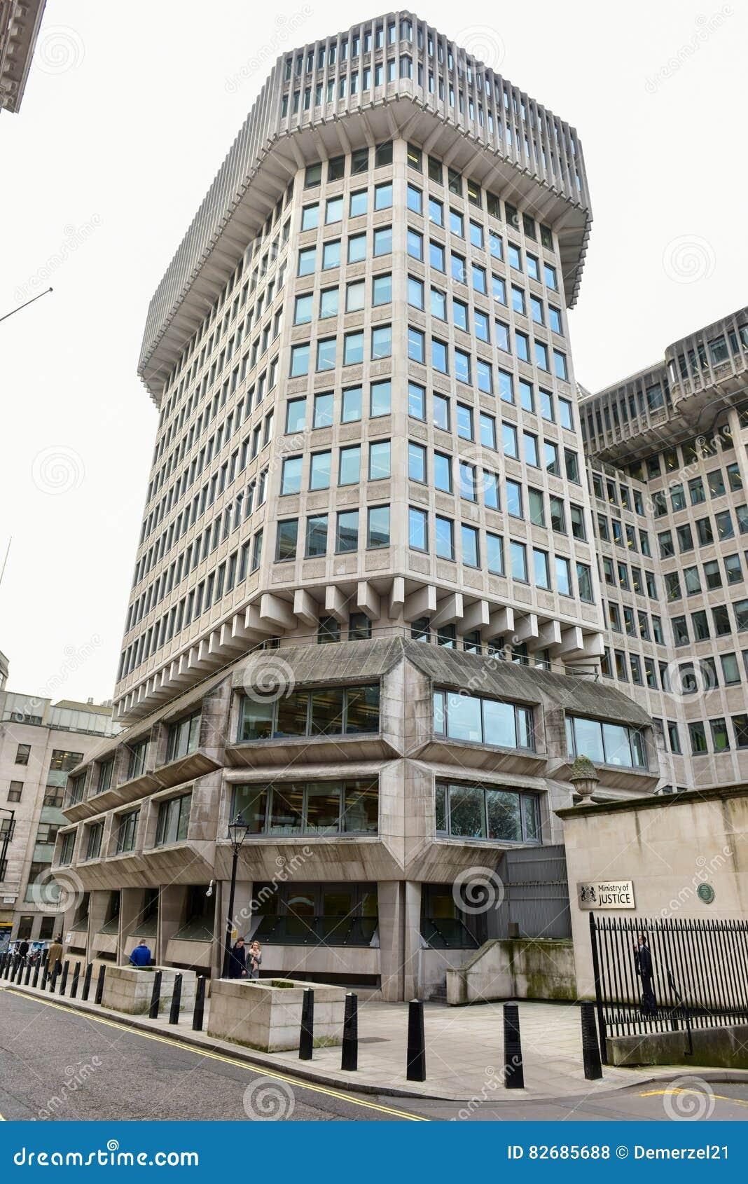 Ministerie van justitie - Londen
