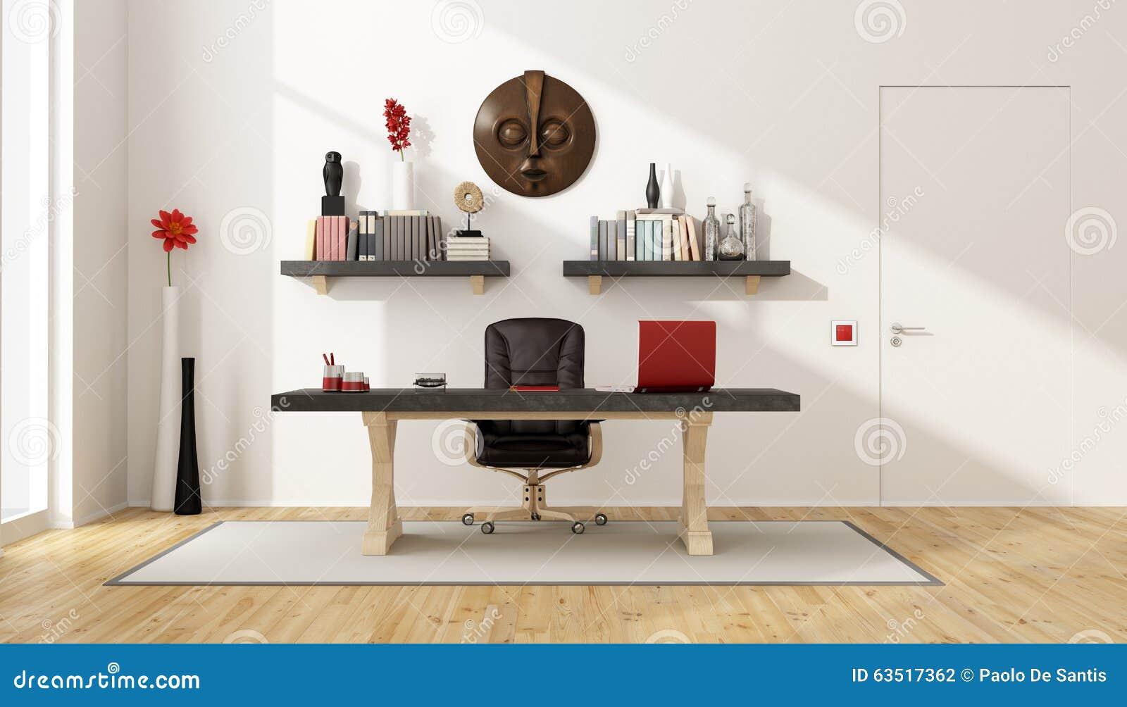 Ministerio del Interior con el escritorio del vintage