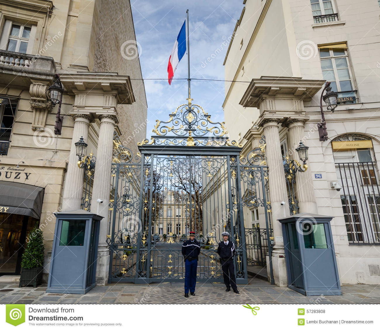 Ministere Exterieur France Of Minist Re De L 39 Int Rieur Beauvau En Place Paris France