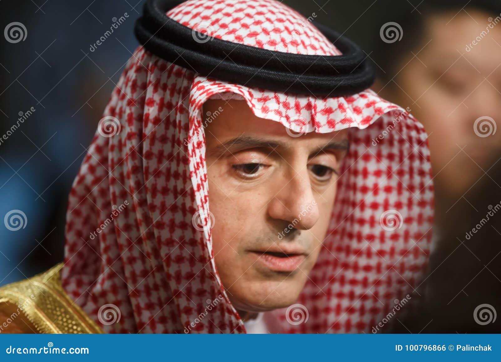 Ministro de asuntos exteriores de la Arabia Saudita Adel al-Jubeir