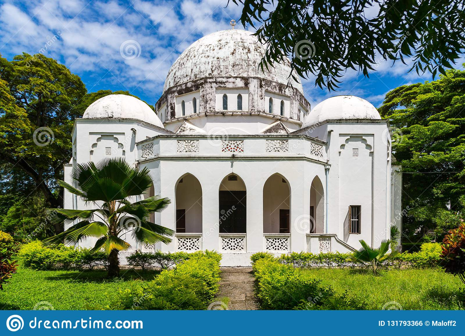 Minnes- museum Beit el Amani för fred Benjamin Mkapa väg, stenstad, Zanzibar stad, Unguja ö, Tanzania