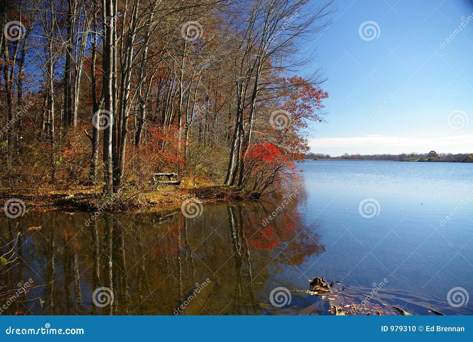 Minnes- parktillstånd för lake