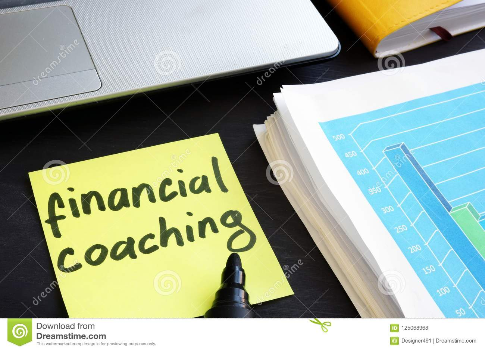 Minneslistapinne med finansiell coachning för ord Utbildning