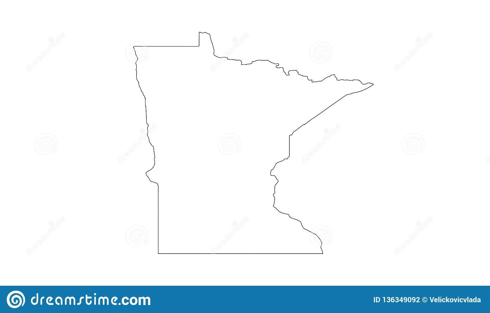 Minnesota Map - State In Northern Regions Of The United ...