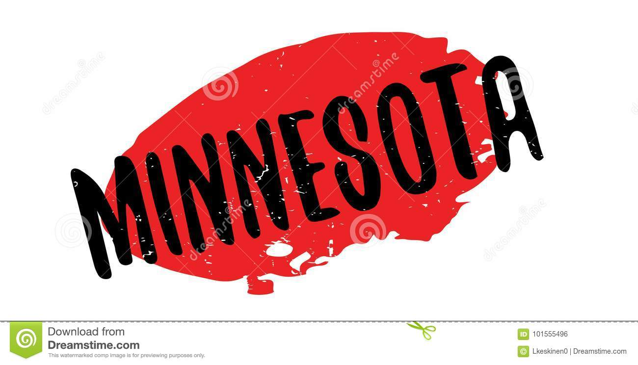 Minnesota rubber stamp