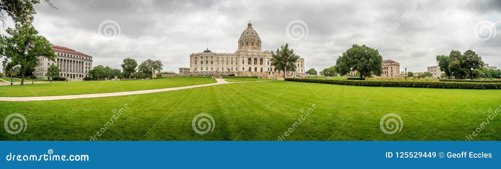 Minnestoa Capitol Buduje Saint Paul