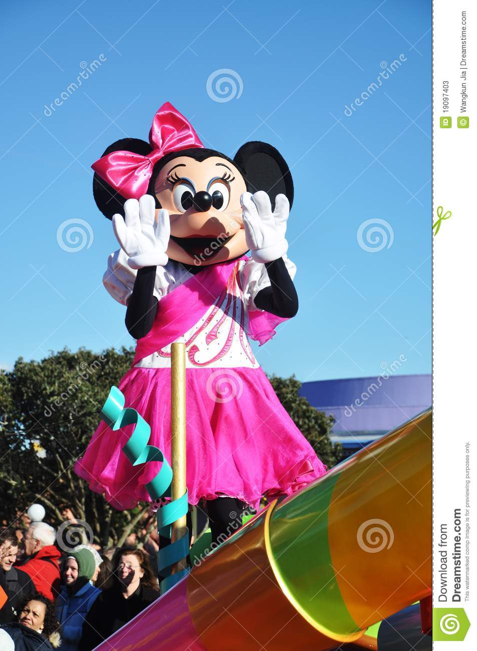 Minnie Mouse In A Dream Come True Celebrate Parade