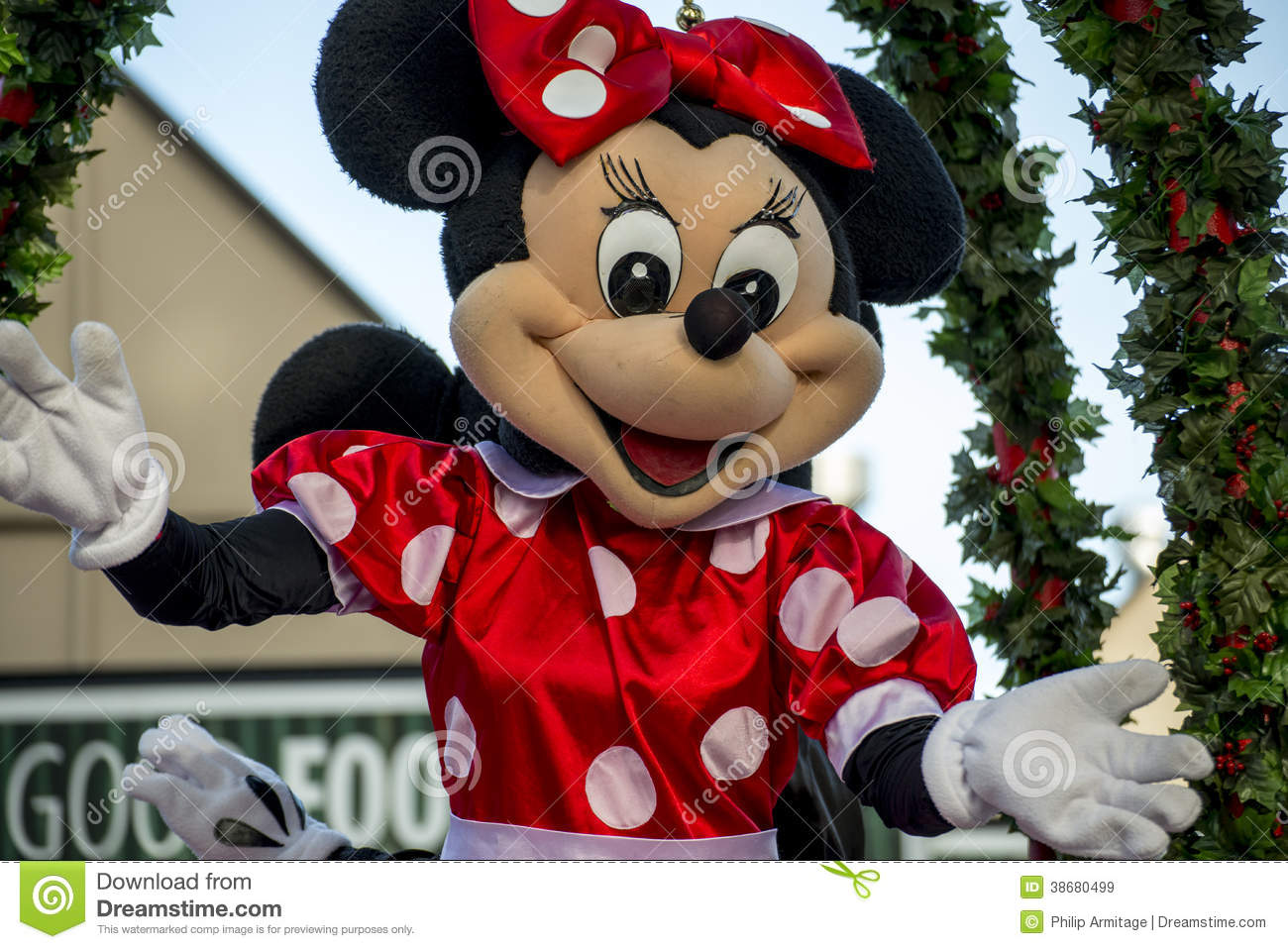 Minnie mouse at a hamner springs christmas parade - Minnie mouse noel ...
