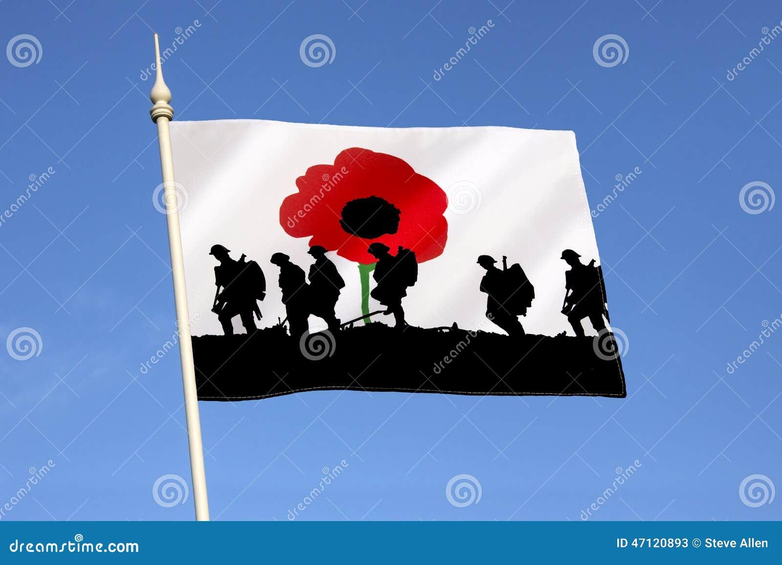 Minns de stupade hjältarna - Poppy Day