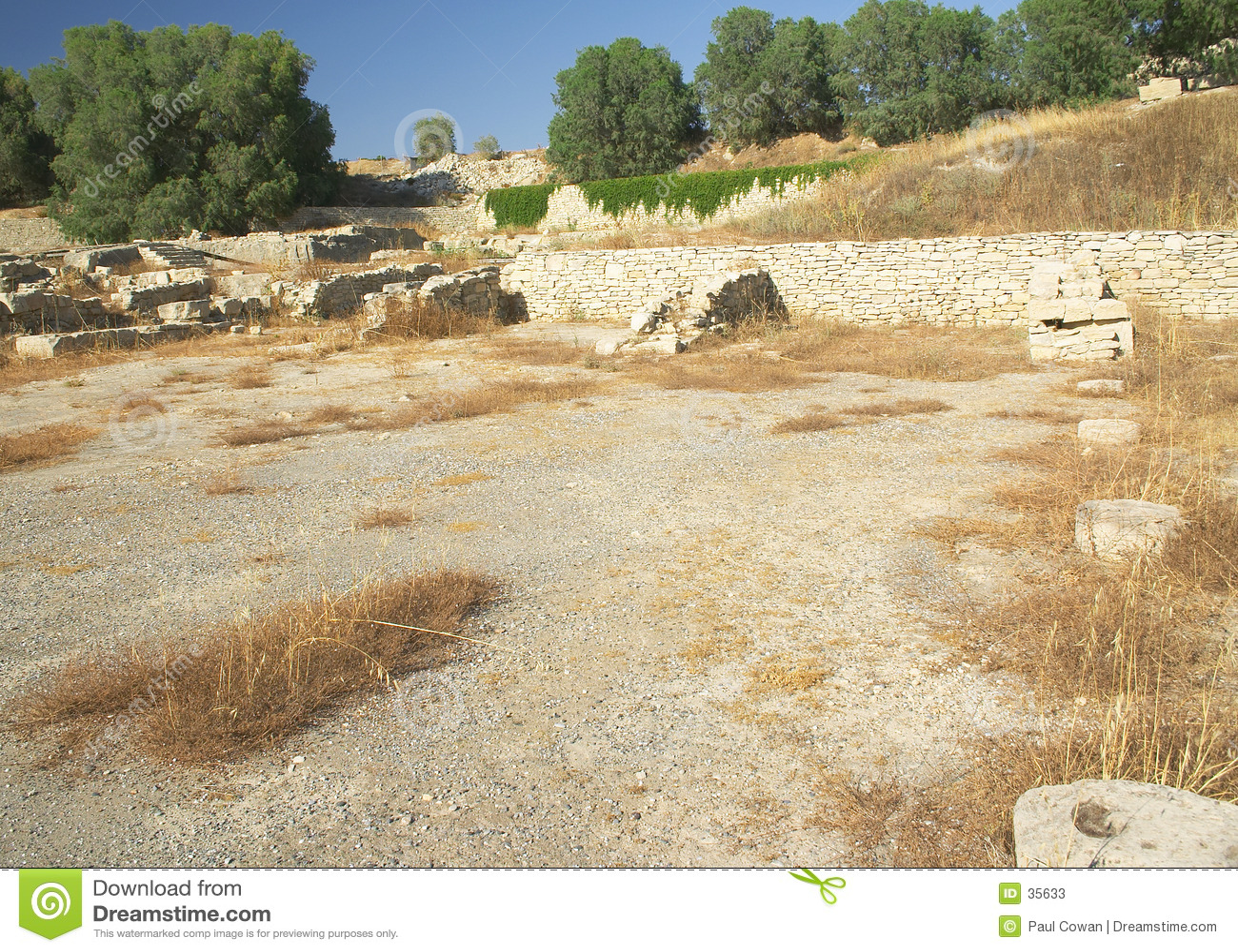Minoan/puerto romano, Kommos