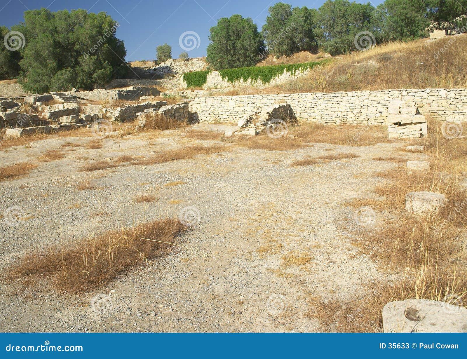 Minoan roman för hamnkommos