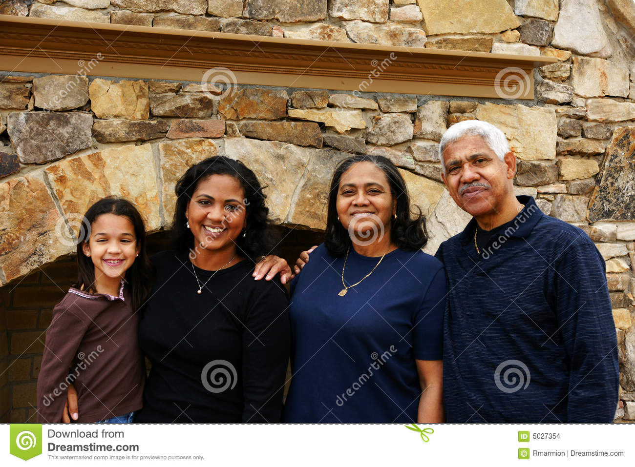 Download Minority Family stock photo. Image of minority, grandmother - 5027354