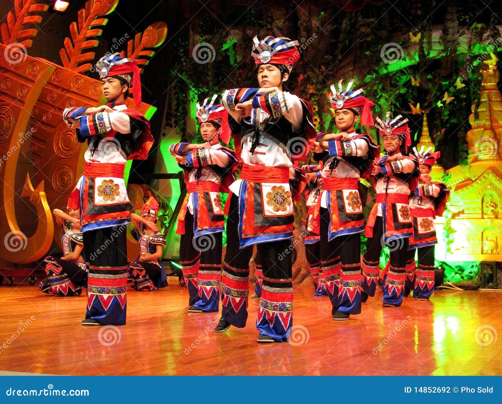 Minority Man in Colourful Yunnan