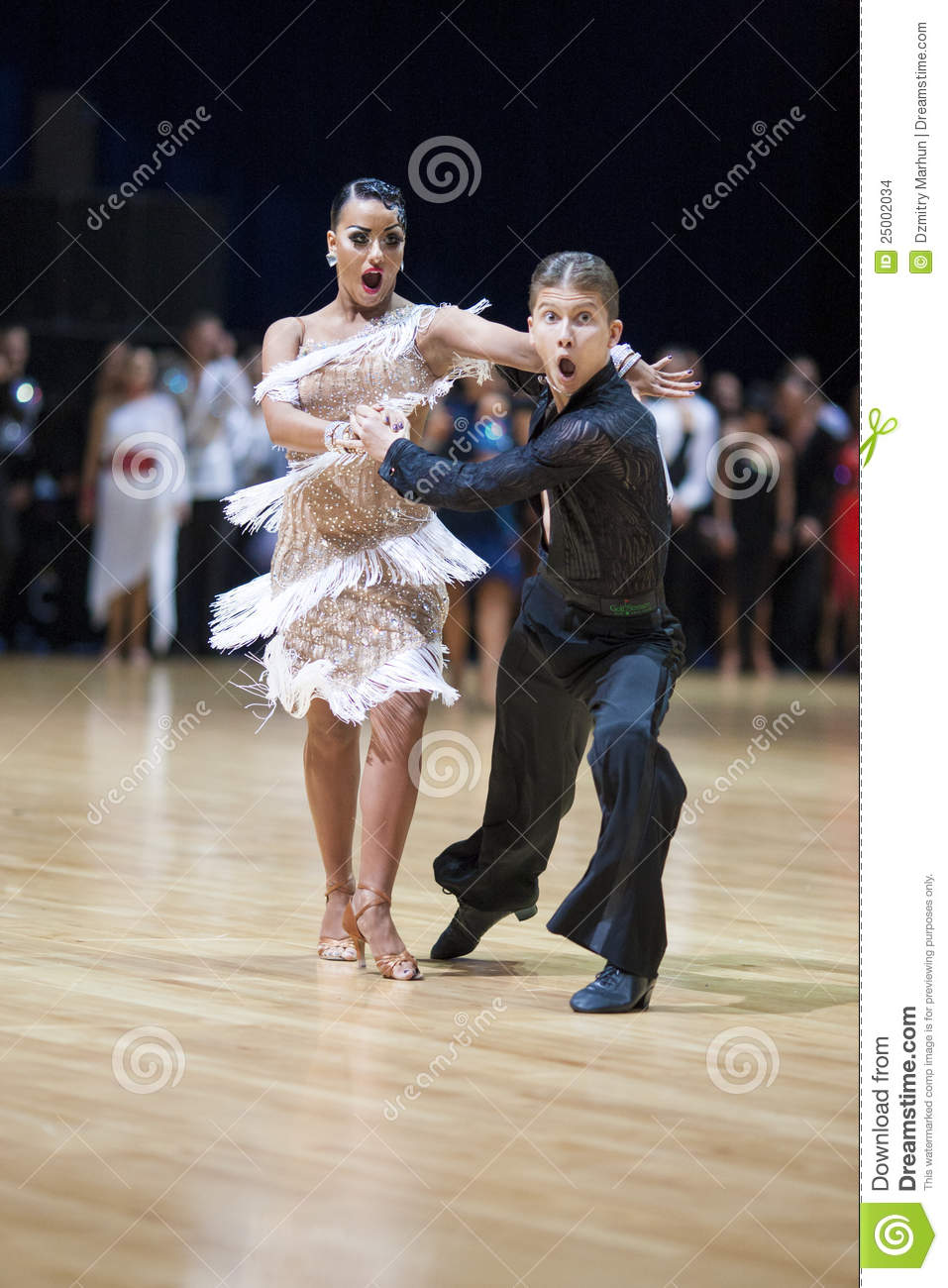 Minsk Belarus  City new picture : MINSK BELARUS, MAY 19: Unidentified Dance Couple performs Adult Latin ...