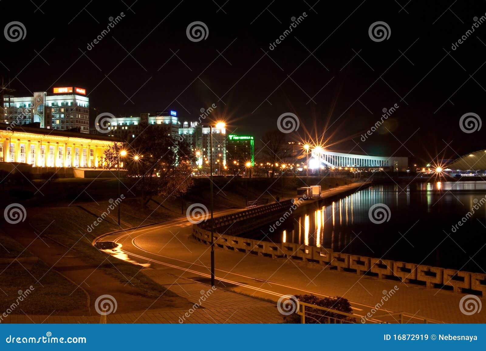 Minsk na noite