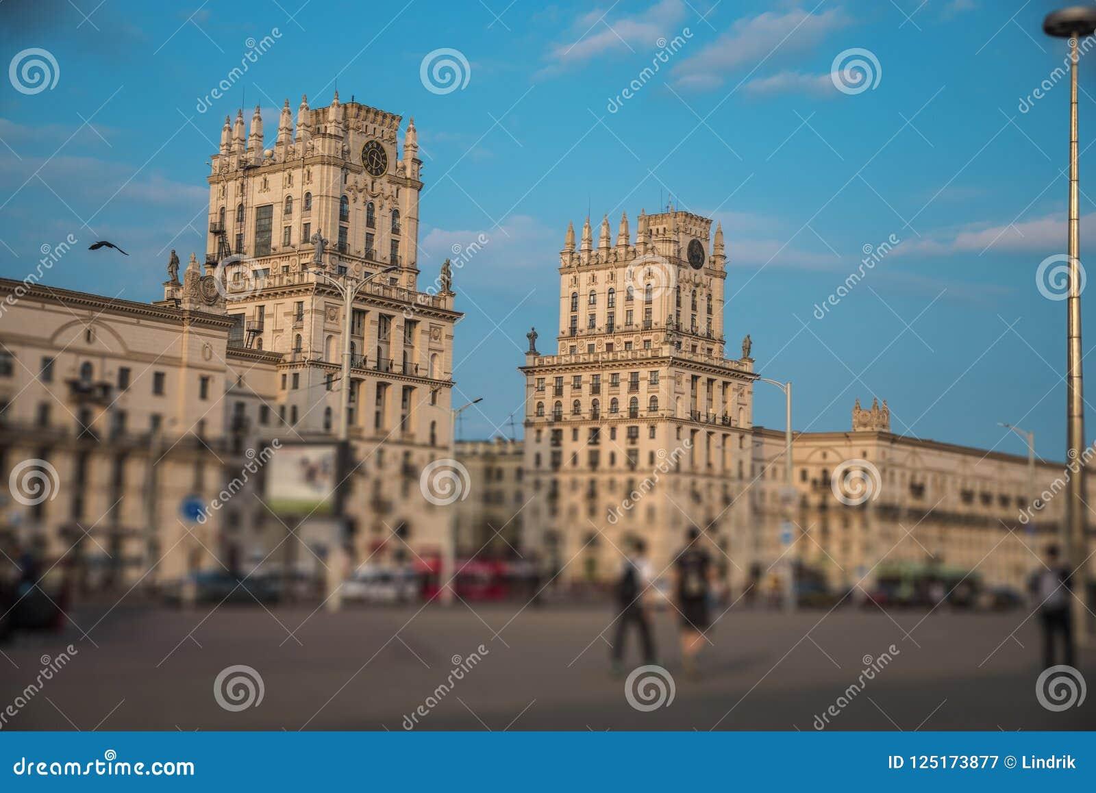 Minsk-Tor zur Stadt