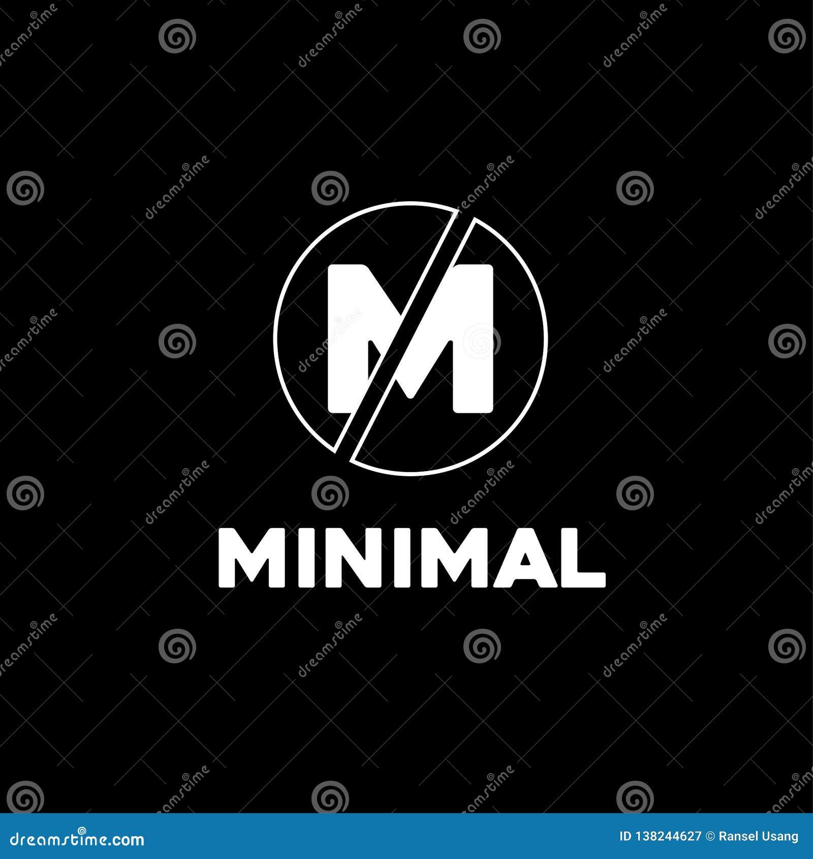 Minsta affär för logodesigncirkel, aktion, banerföretag