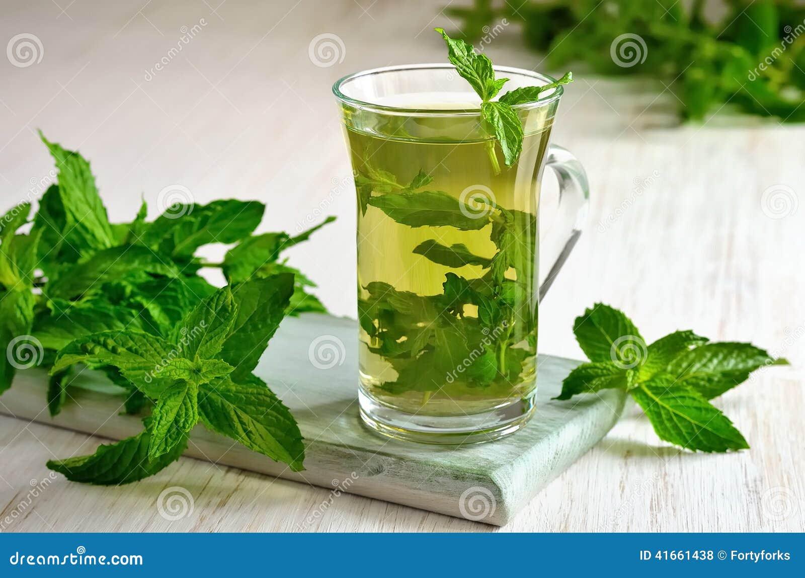Mint чай