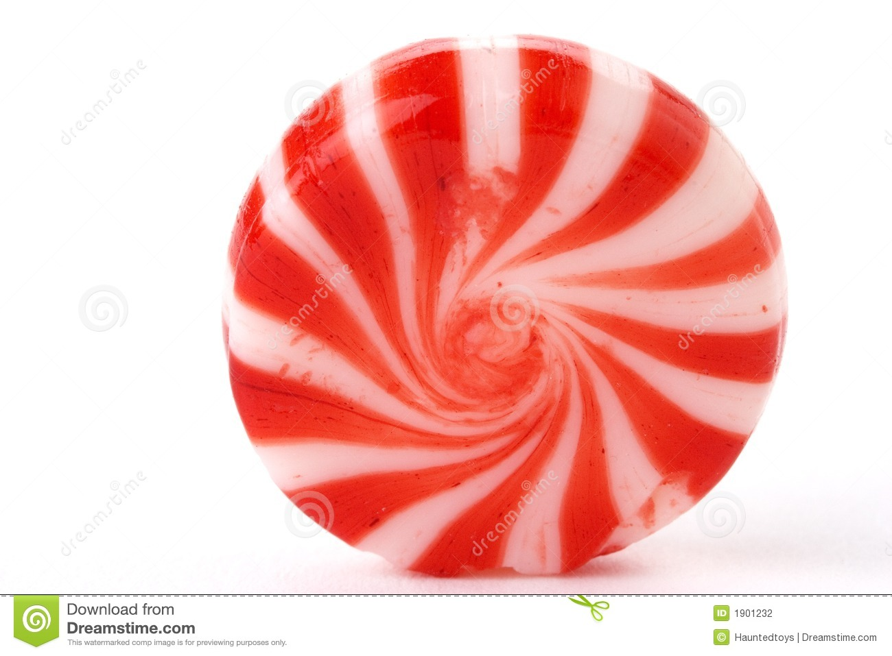 Mint candy Stock Photography  Wrapped Peppermint Candy