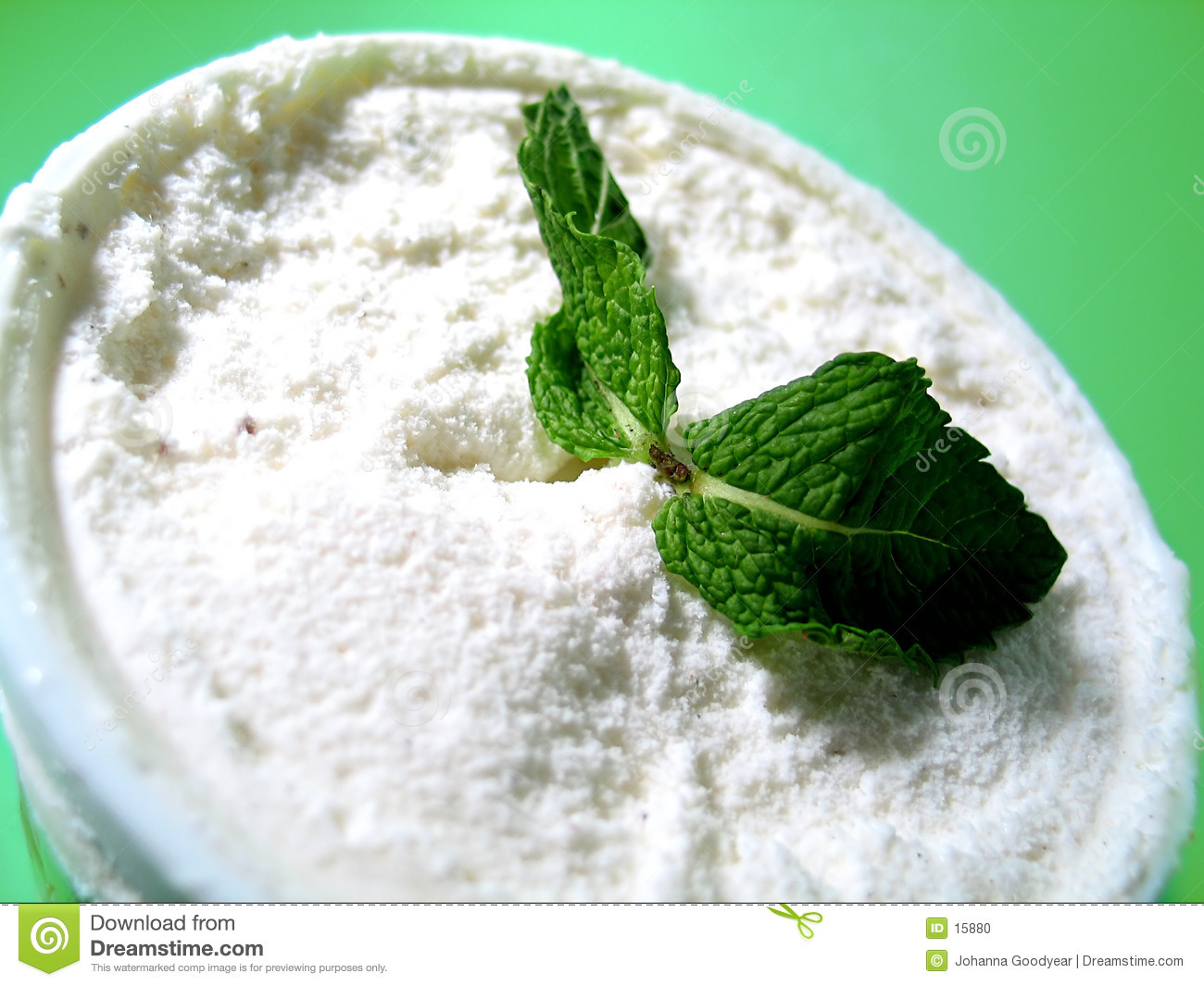 Mint Ice Cream 2 Stock Photo - Image: 15880