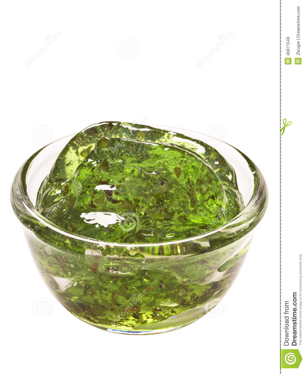 Mint Jelly Sauce Stock Photo - Image: 46871549