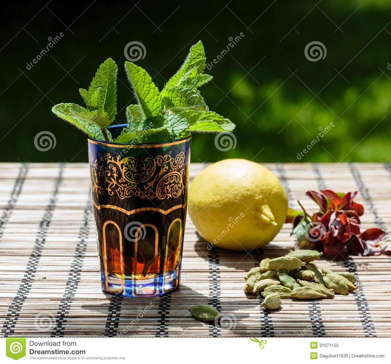 Traditional North African Green Mint Tea Recipes — Dishmaps