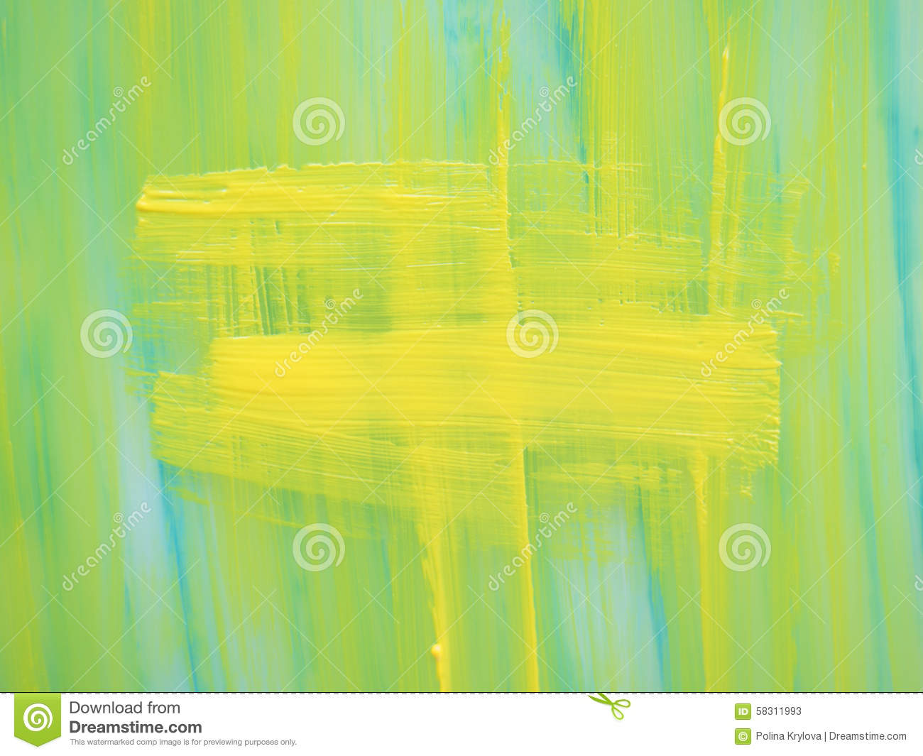 Mint Yellow Background From Paint With Texture Stock Photo - Image ...