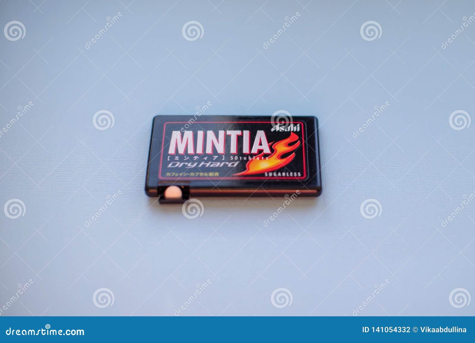 Mintia - Suche Ciężkie Sugarless mennicy produkować w Japonia gatunkiem Asahi