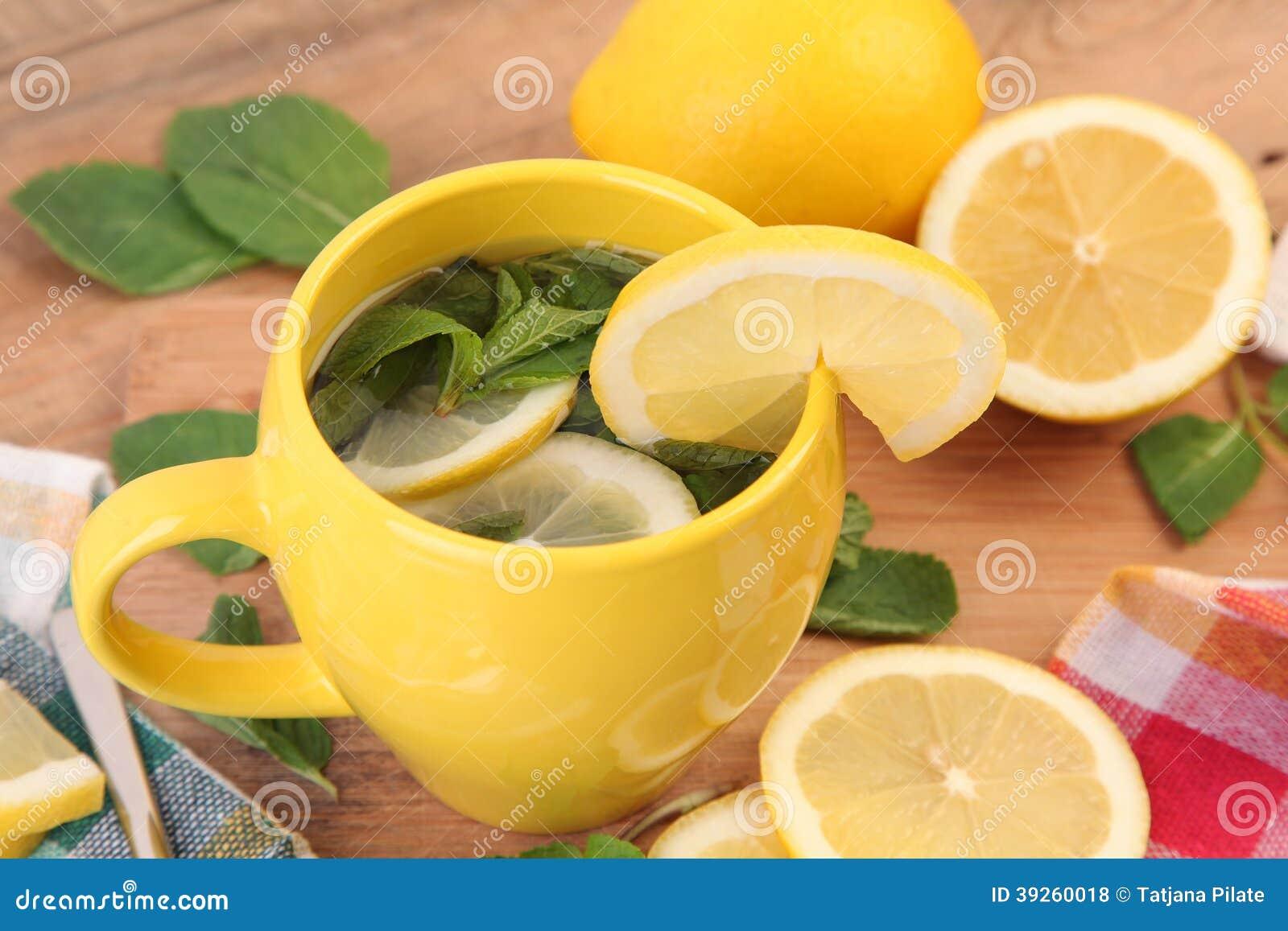 Mintkaramell och citron