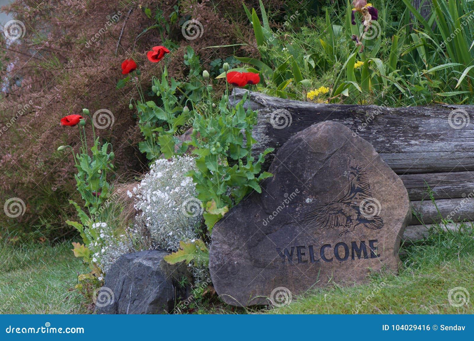 Mints och välkomnat