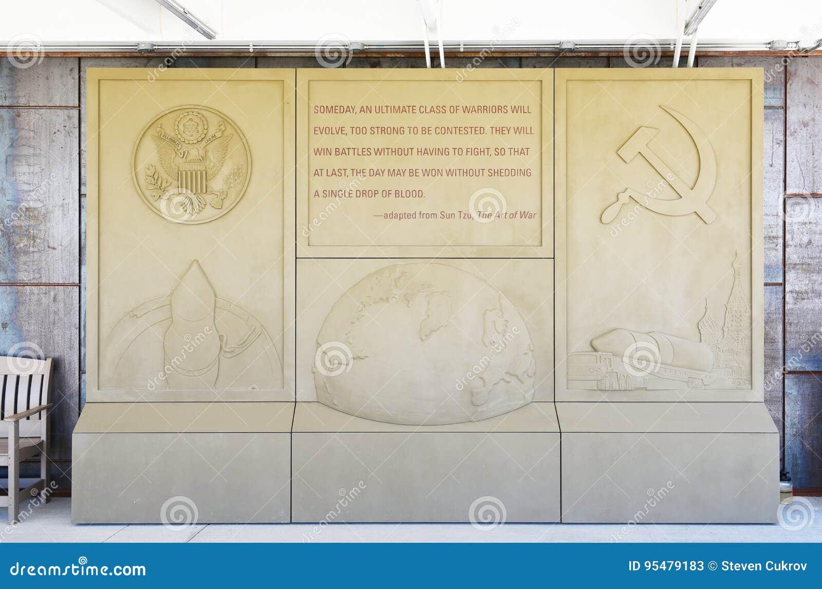 Minutemanu pociska Historycznego miejsca Krajowa plakieta