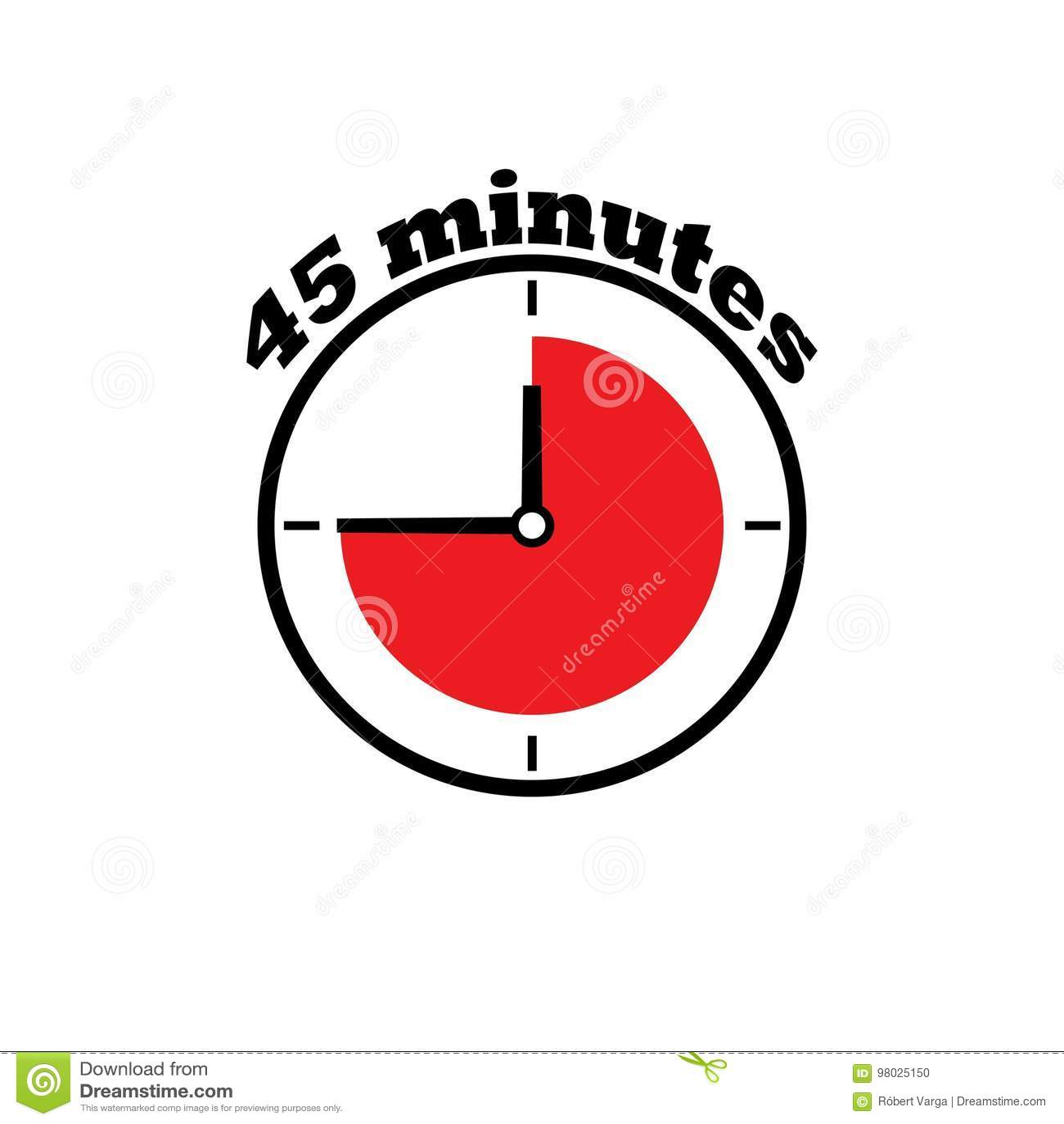 45 Minuten