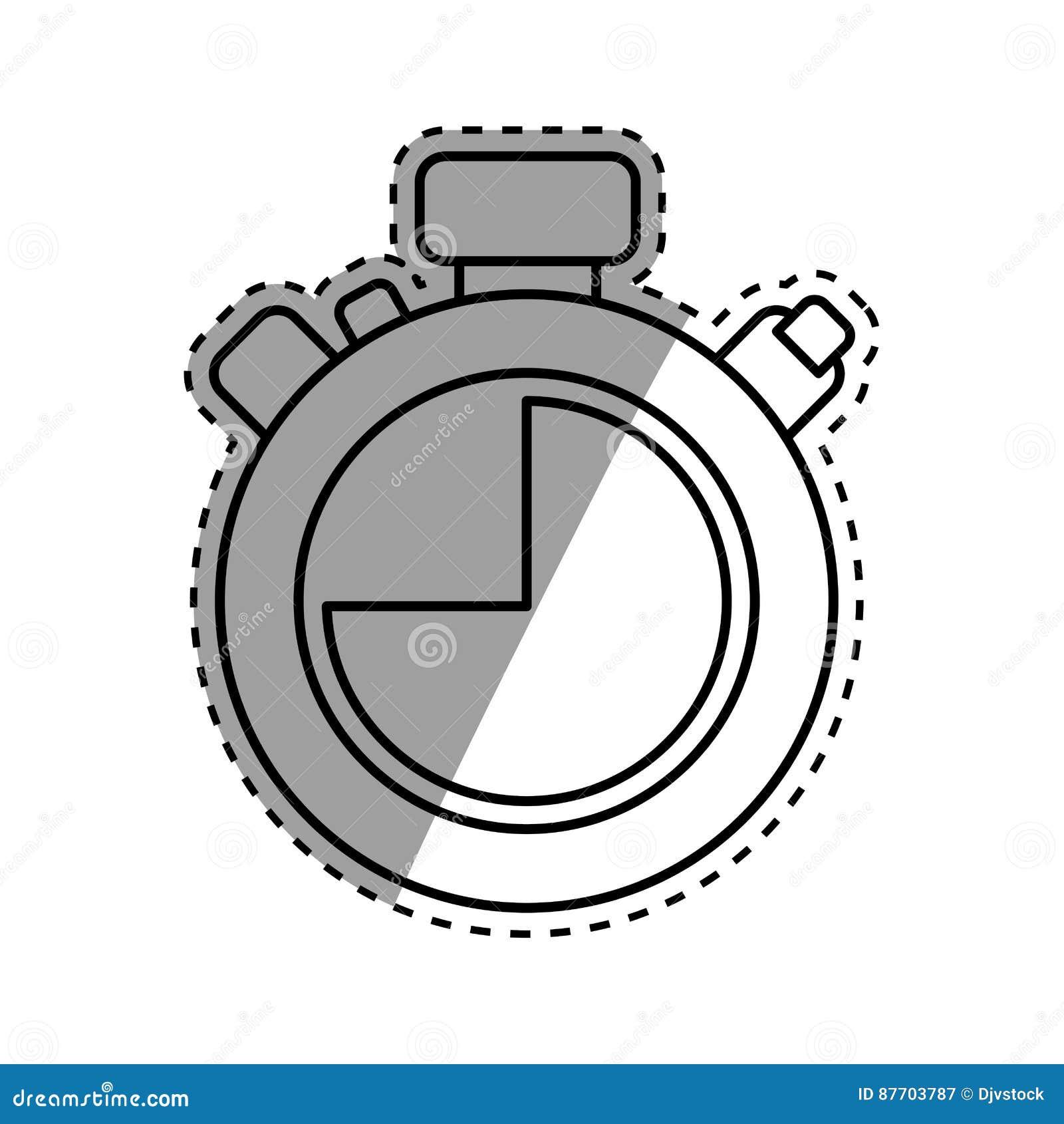 Minuterie d isolement de chronomètre