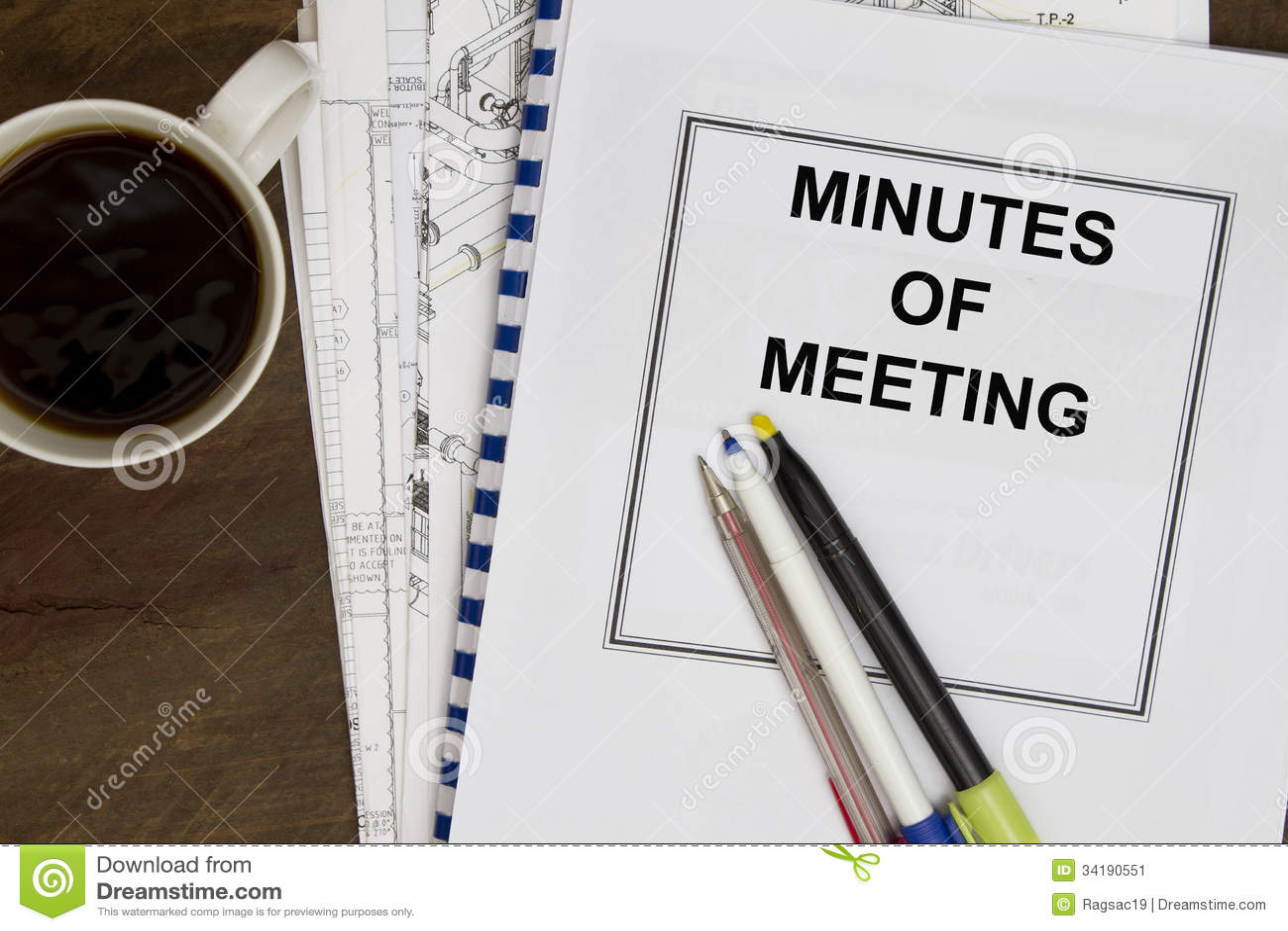 taking minutes in meetings