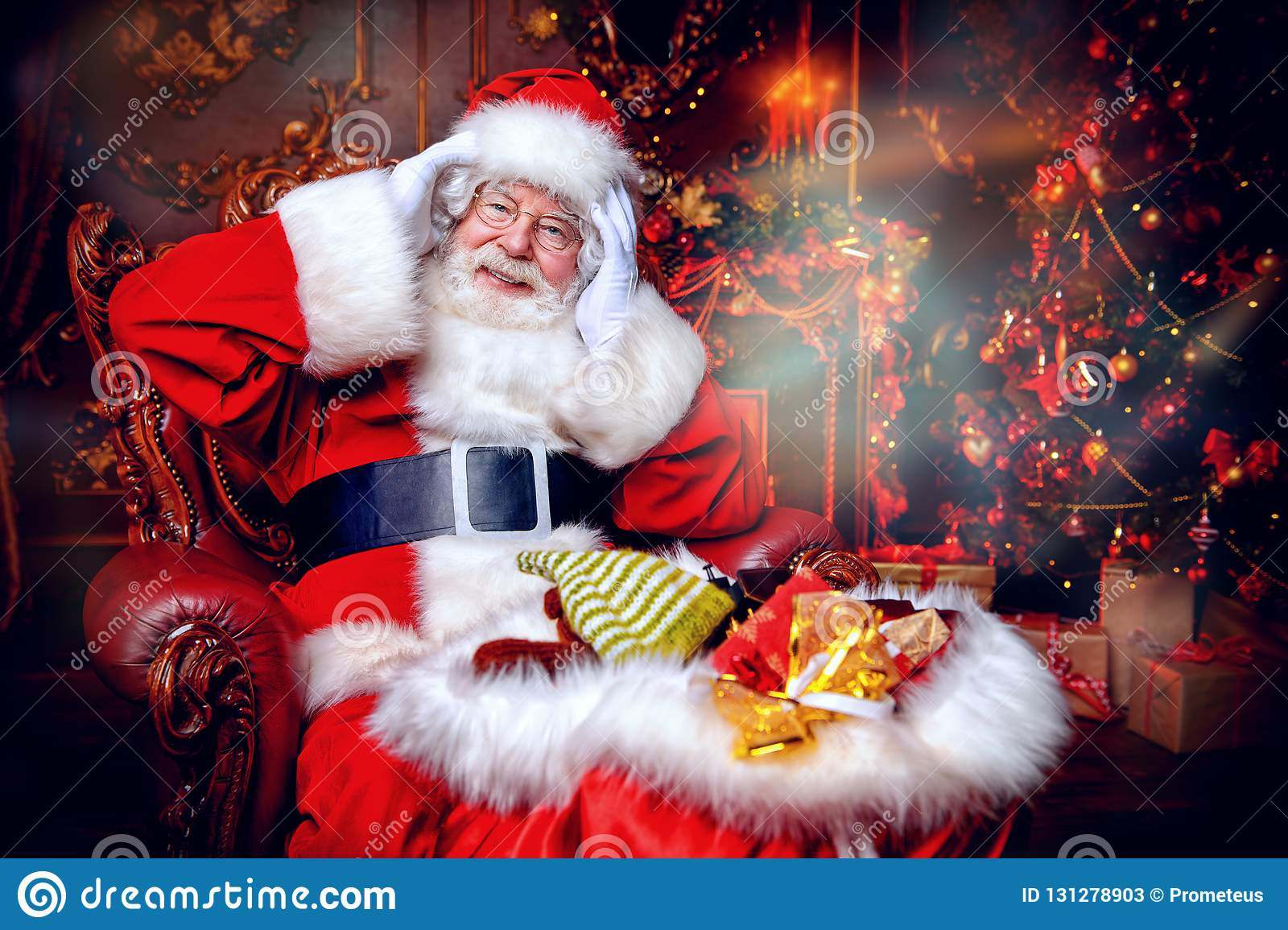 Miracle time with santa