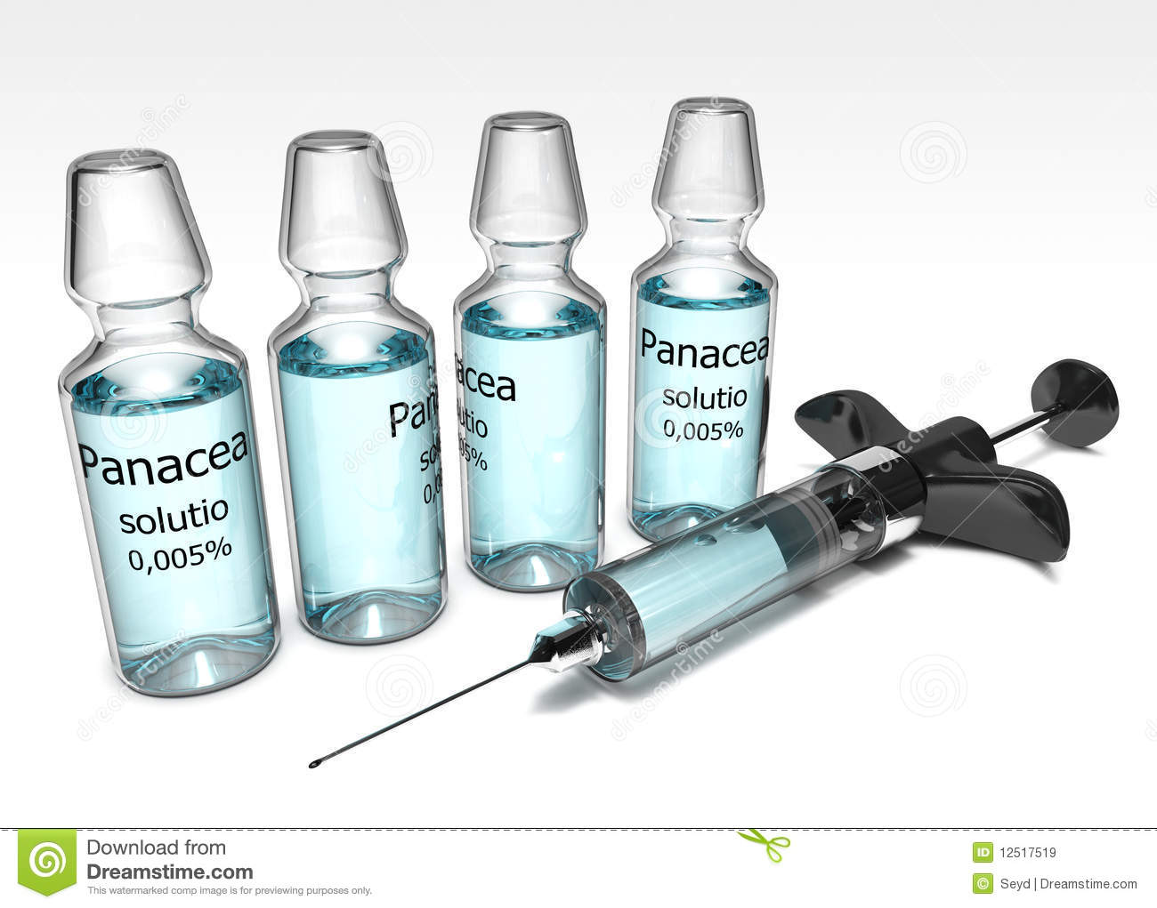 Miraculous Cure Panacea Royalty Free Stock Images Image