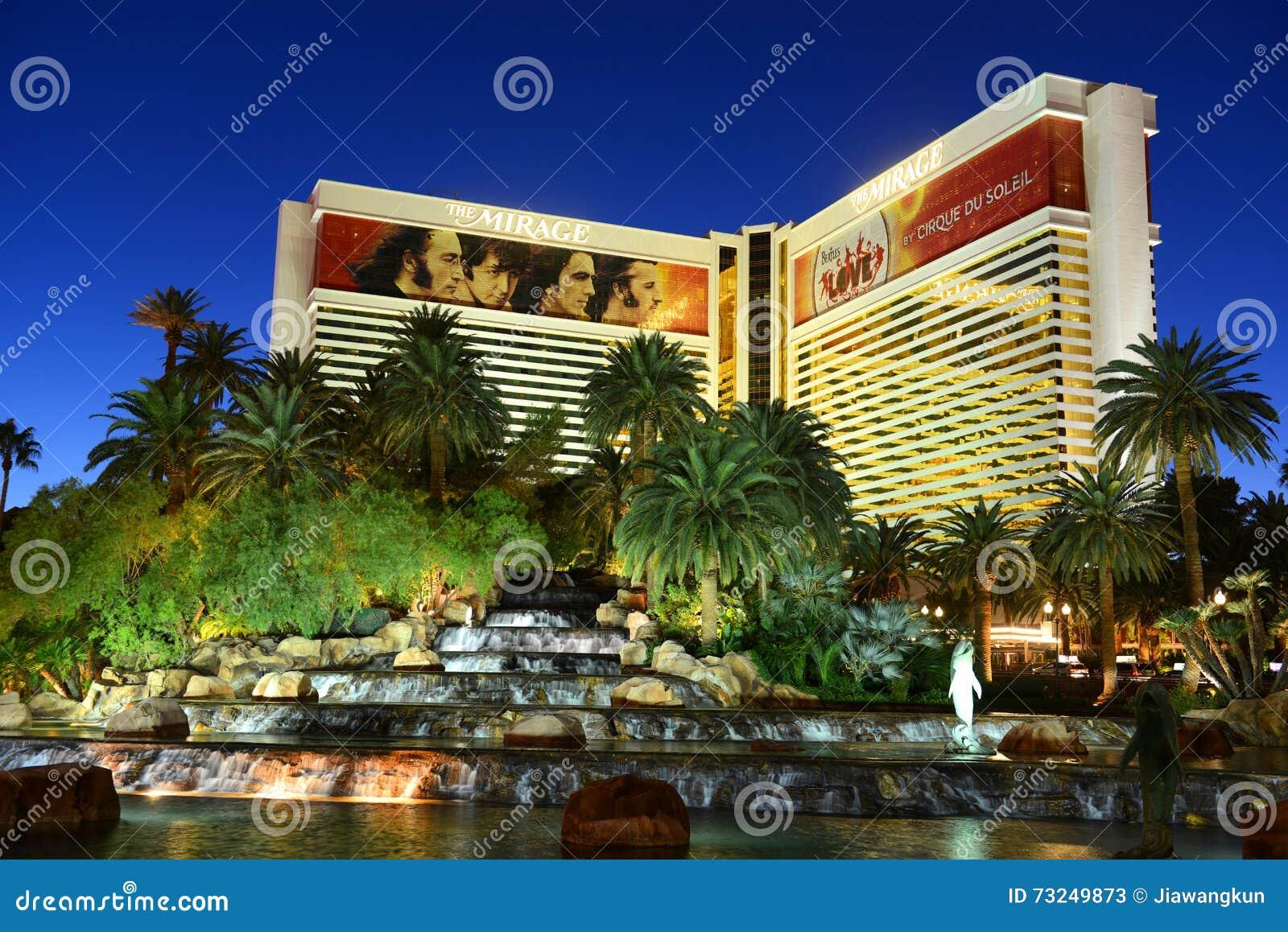 Mirage resort and casino las vegas