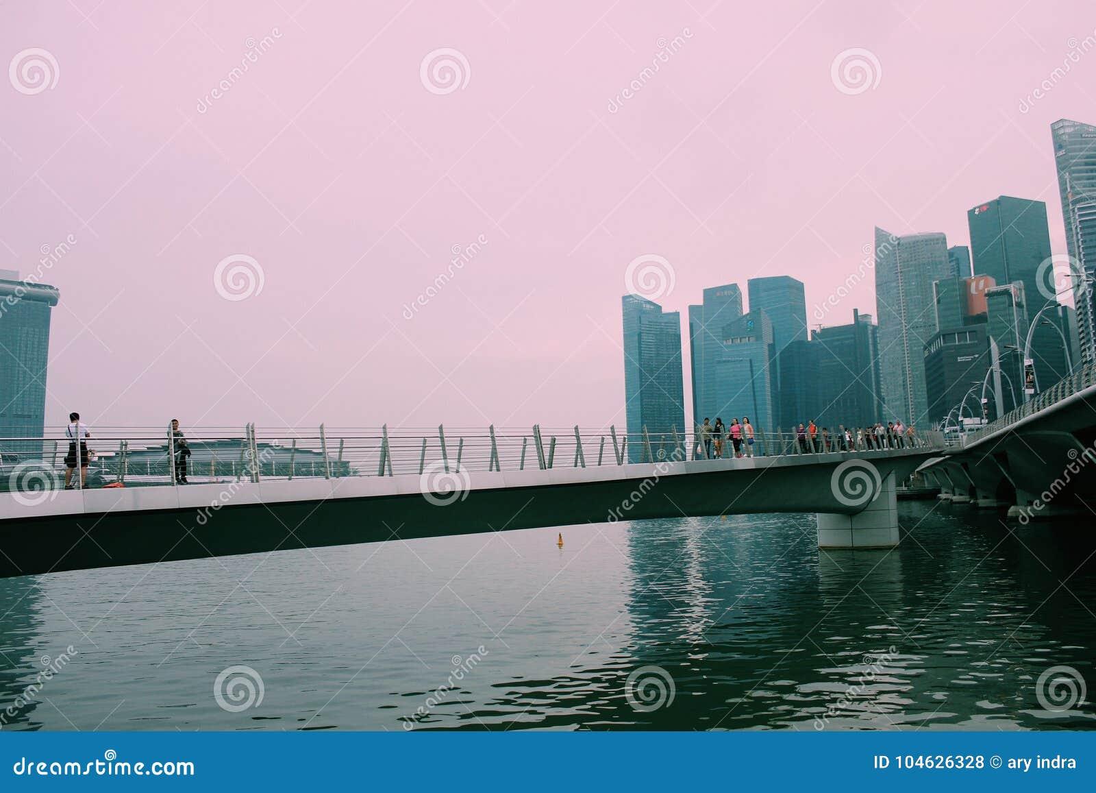 Download Mirakel van Singapore stock foto. Afbeelding bestaande uit nevel - 104626328