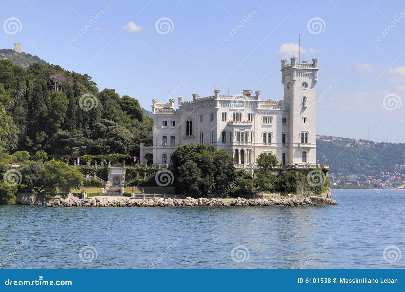 Miramare Schloss in Triest (Italien)
